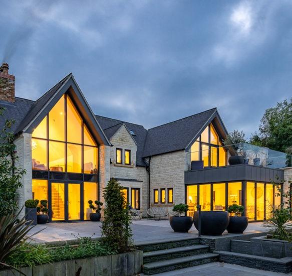 Bespoke new build house