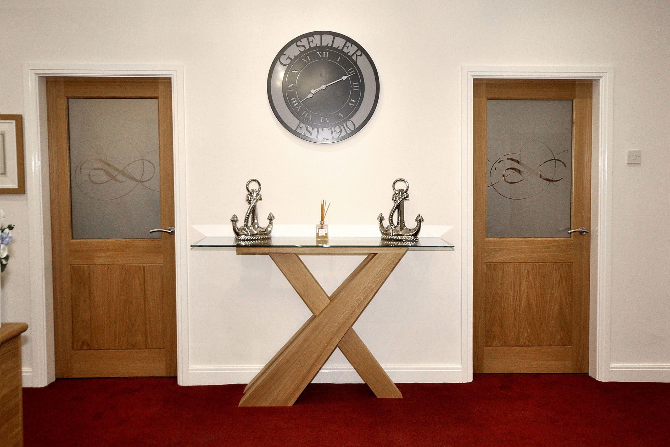 G Sellers - Inside Clock